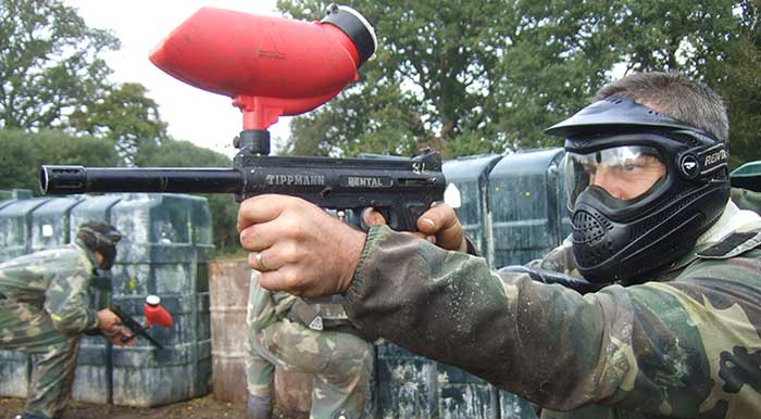 Mega Scout Paintball Package