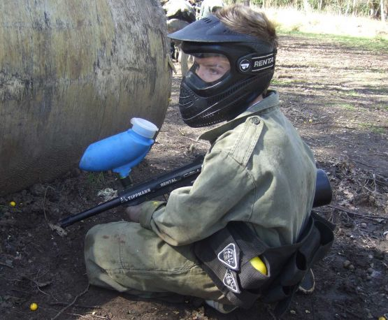 Kids paintball Dorset – Low Impact Paintball for Juniors