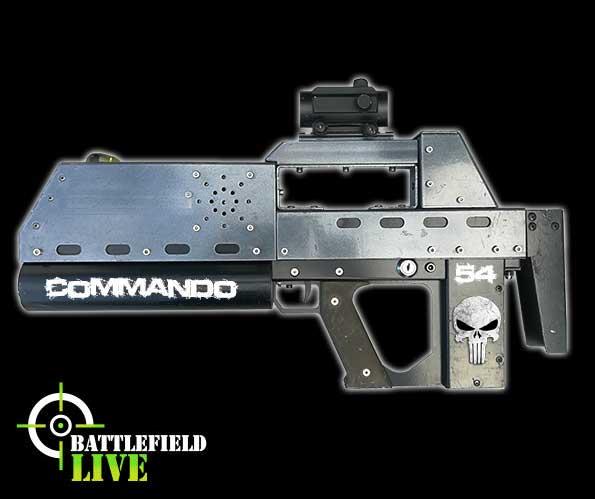 battlefield live Dorset commando carbine laser tag gun